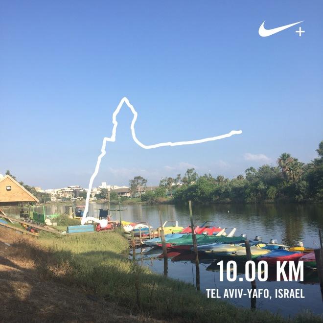 10k nike running club screen capture