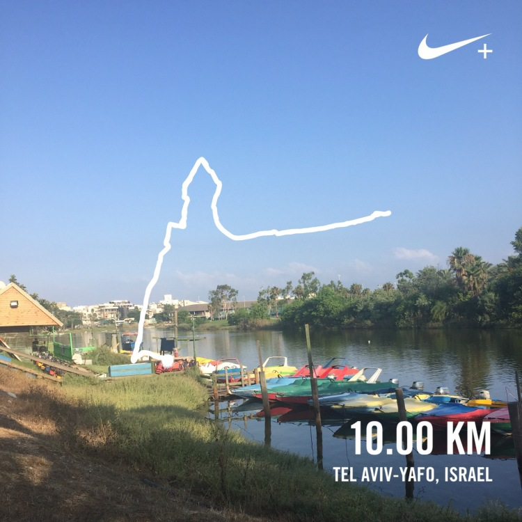 10k nike running club screen capture