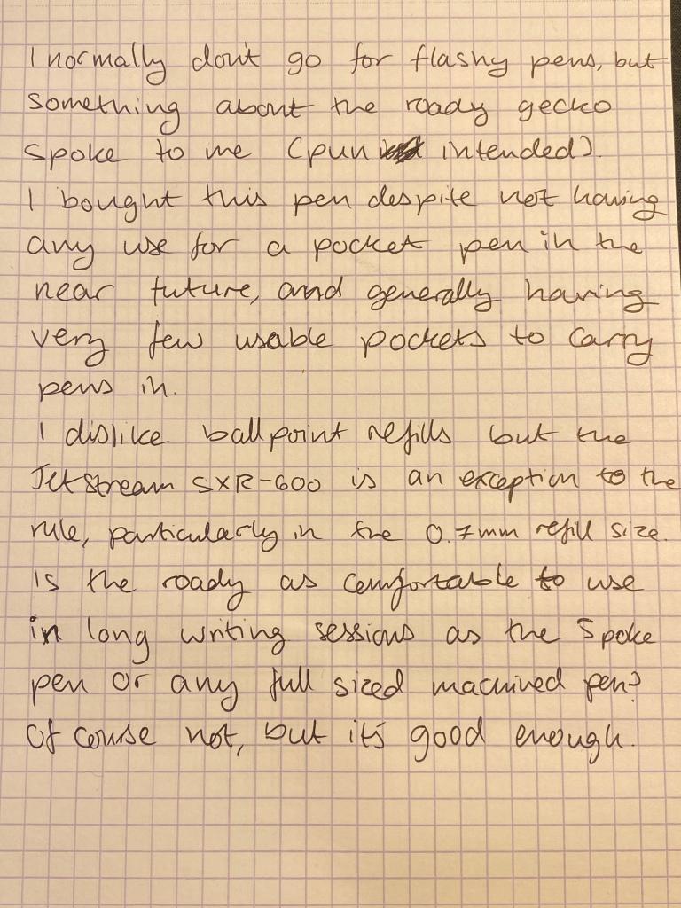 img 6243 - Spoke Roady Gecko Pen Assessment